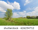 Dutch Landscape With Little...