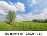 Dutch Landscape With Little...