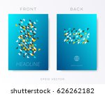 modern vector brochure design... | Shutterstock .eps vector #626262182