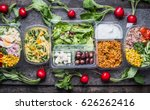 variety of clean dieting... | Shutterstock . vector #626262416