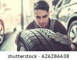 Handsome Young Auto Mechanic I...