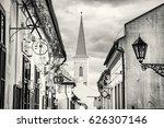 hrnciarska street with... | Shutterstock . vector #626307146