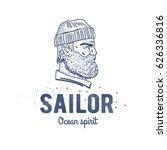 old sailor logo or label....