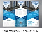 business brochure. flyer design.... | Shutterstock .eps vector #626351426