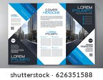 business brochure. flyer design.... | Shutterstock .eps vector #626351588