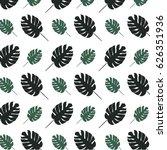 leaf pattern | Shutterstock .eps vector #626351936