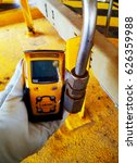 personal h2s gas detector check ... | Shutterstock . vector #626359988