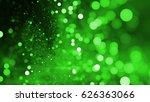 Abstract Green Bokeh Backgroun...