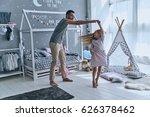 spontaneous dance. full length... | Shutterstock . vector #626378462