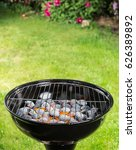 garden grill with blistering... | Shutterstock . vector #626389892