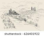 hand drawn vector illustration... | Shutterstock .eps vector #626401922
