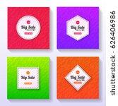 set of big sale banners....   Shutterstock .eps vector #626406986