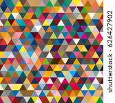 abstract geometric colorful... | Shutterstock .eps vector #626427902