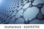 3d illusrtation of graphene... | Shutterstock . vector #626453702