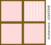 Set Of Pink Wallpaper Patterns