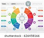 business presentation concept... | Shutterstock .eps vector #626458166