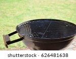 grilling sausages and... | Shutterstock . vector #626481638