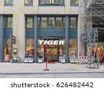 hamburg  germany   circa... | Shutterstock . vector #626482442