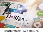 creative process. concept for... | Shutterstock . vector #626488076