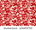 pink red texture military...   Shutterstock .eps vector #626495702