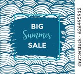 summer discount cards design....   Shutterstock .eps vector #626495912