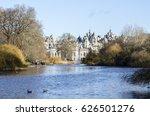st james's park and the...   Shutterstock . vector #626501276