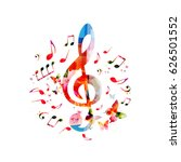Music Notes Background....