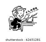 telegraph operator   retro... | Shutterstock .eps vector #62651281