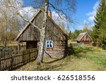 Old Wooden House In Kashubian...