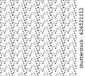 monochrome geometric seamless... | Shutterstock .eps vector #626521112