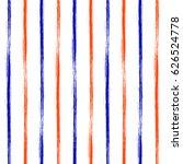 seamless grunge geometrical... | Shutterstock . vector #626524778