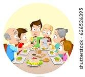 vector illustration of big... | Shutterstock .eps vector #626526395