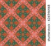 abstract geometric illustration.... | Shutterstock .eps vector #626546468