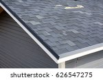 a close up view of shingles a... | Shutterstock . vector #626547275