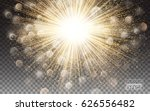 lights effect bright flare... | Shutterstock .eps vector #626556482