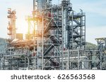 oil and gas industry refinery... | Shutterstock . vector #626563568