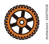 gear wheel icon   Shutterstock .eps vector #626570228