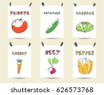 hand drawn sketch cards  tags... | Shutterstock .eps vector #626573768