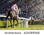 horse races  jockey and his... | Shutterstock . vector #626589068