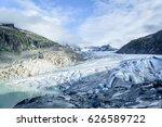 Small photo of Rhone Glacier, Switzerland
