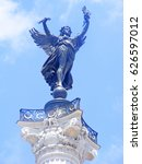 Small photo of Monument aux girondins, Bordeaux, Gironde, Aquitaine, France