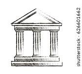 university building symbol | Shutterstock .eps vector #626601662