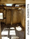 Small photo of Historic Remains Stone and Adobe House Mining Town Terlingua West Texas