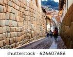 cusco peru | Shutterstock . vector #626607686