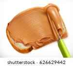 peanut butter  3d vector icon | Shutterstock .eps vector #626629442