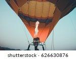 close up of hot air balloons... | Shutterstock . vector #626630876