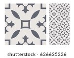 vintage antique design patterns ... | Shutterstock .eps vector #626635226