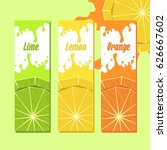 juice splash | Shutterstock .eps vector #626667602