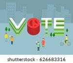 south korea's presidential... | Shutterstock .eps vector #626683316