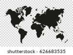 world map | Shutterstock .eps vector #626683535